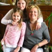 Sandrine et ses filles