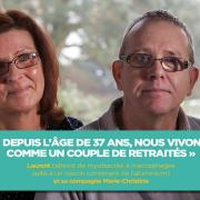 Laurent (malade de myofasciite à macrophages) et sa compagne