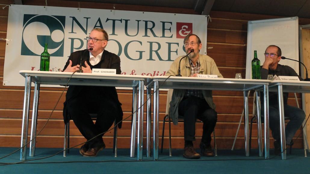 Pr Gherardi, Régis Pluchet, Didier Lambert